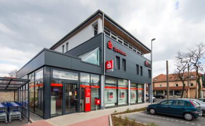 Sanierung Umbau Sparkassenfiliale