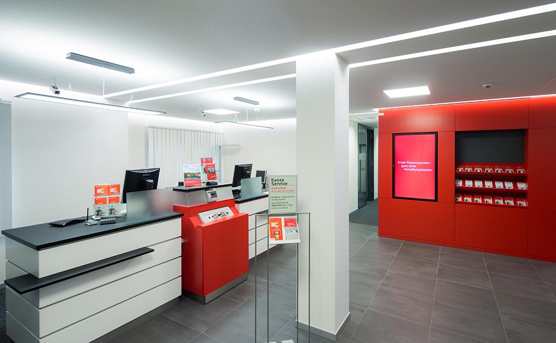 Sanierung und Modernisiserung Sparkassen Filial Dresden Plauen